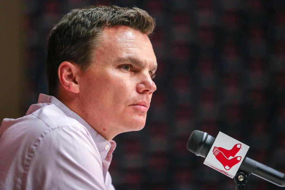 Red Sox General Manager Ben Cherington spoke to the media.