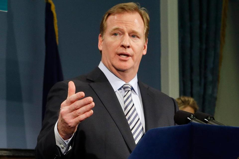 Roger Goodell said he appreciates the commitment from players to make the game better.