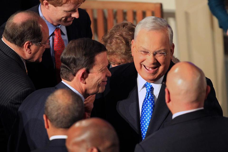 Mayor Thomas M. Menino gave few clues about whether he will seek reelection.