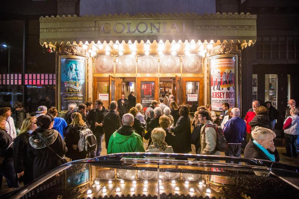 Broadway tryouts could bring weeks of work to Boston theaters, the bill's proponents say. But even some producers wonder if there is an audience here for so long a run.