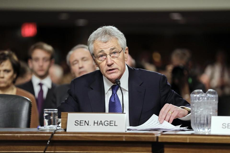 Chuck Hagel also said that the Iraq war was the ''most fundamentally bad, dangerous decision since Vietnam.''