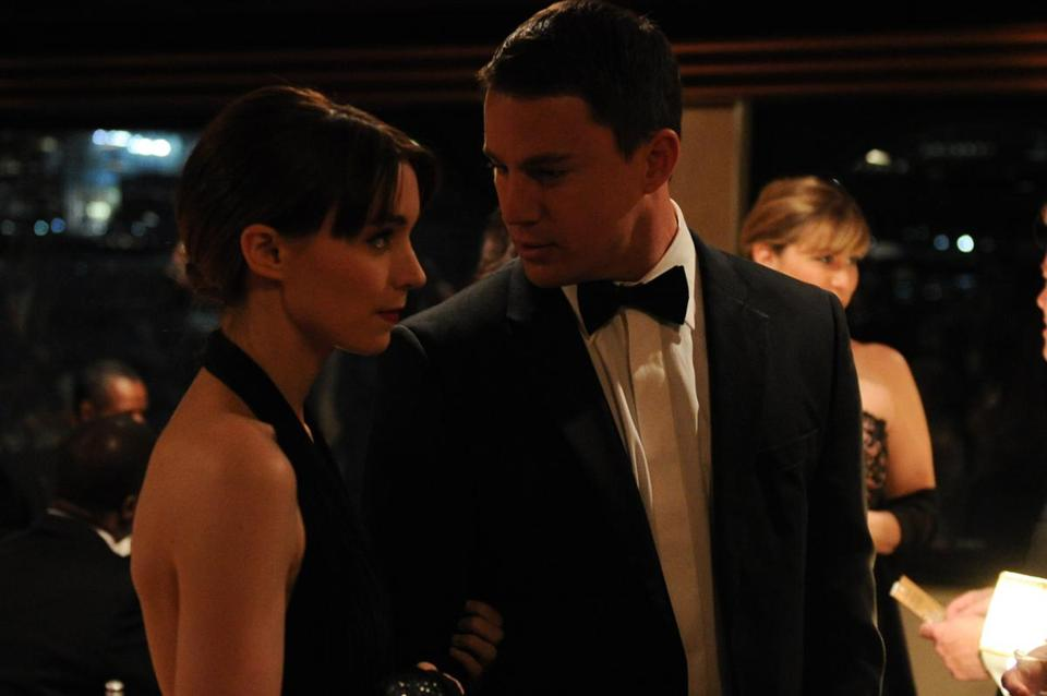 "Rooney Mara and Channing Tatum star in ""Side Effects,"""