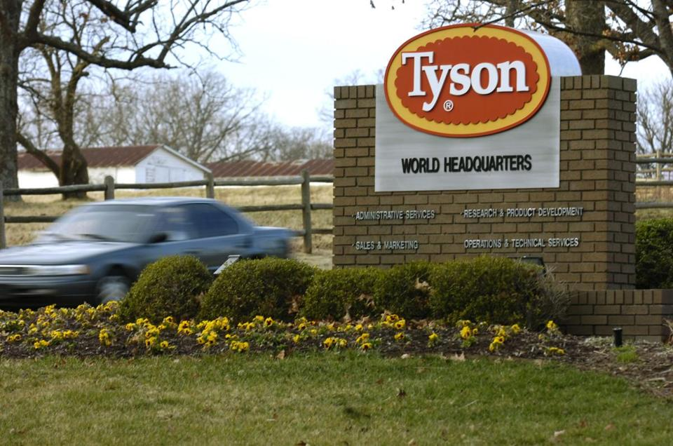 Tyson chief executive Donnie Smith said the fiscal year is 'off to a good start.'