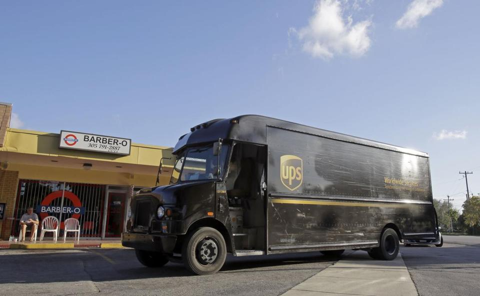 UPS is the world's largest package-delivery company.