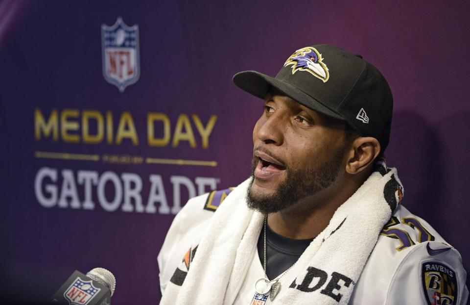 Ray Lewis has denied any link to using performance-enhancing drugs.