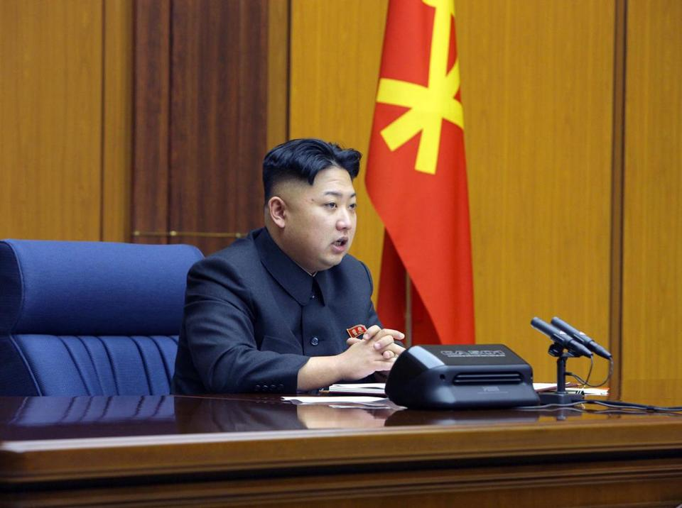 North Korean leader Kim Jong Un attended a meeting of the Central Military Commission at an unknown location.