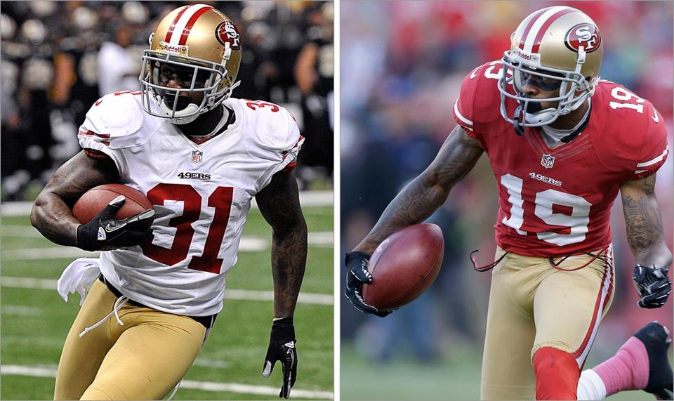 San Francisco safety Donte Whitner and return specialist Ted Ginn Jr. aren't brothers in the biological sense; they became brothers during shared training sessions, over the desire to become great, through the prodding and love of one man.