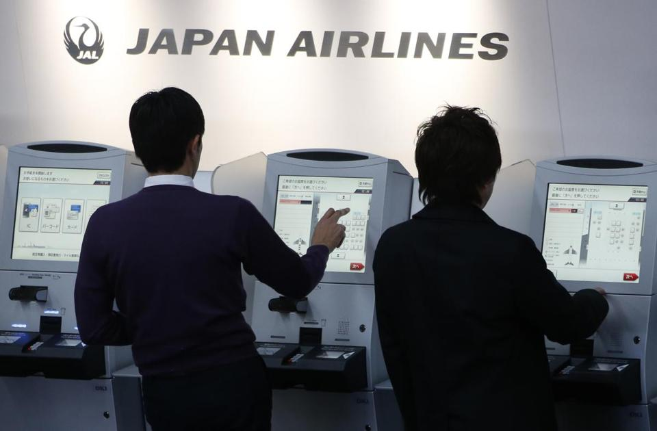 Japan Airlines operates seven Boeing 787s and has placed orders for 38 more of the planes, known as Dreamliners.
