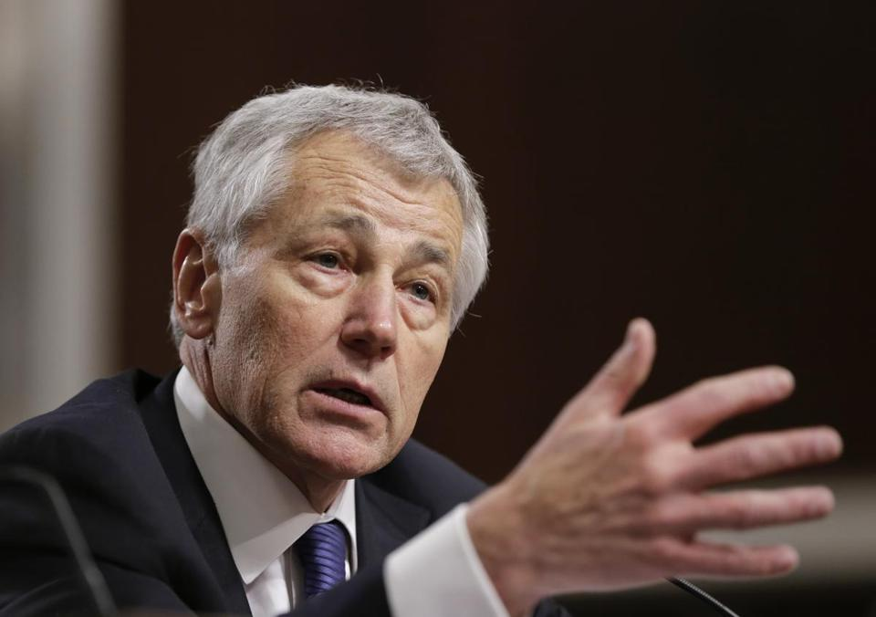No Democrat has come out in opposition to Chuck Hagel.