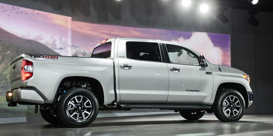 The 2014 Toyota Tundra TRD pickup goes on sale in September. Price and mileage haven't been announced.
