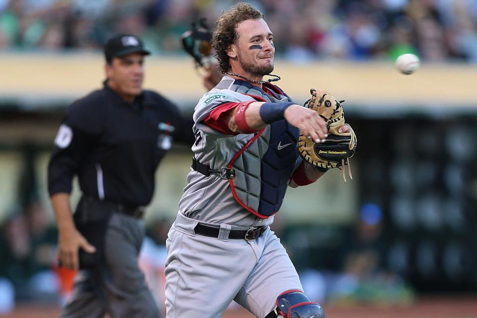 Jarrod Saltalamacchia's upside and power numbers were enough to earn the No. 1 job.
