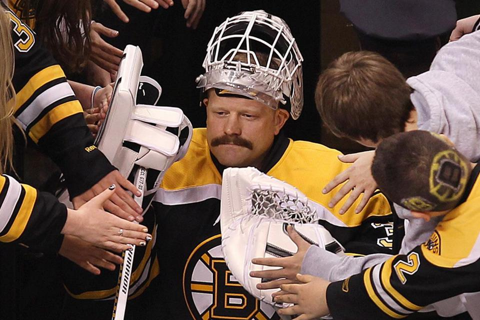 Tim Thomas got it done, the hard way, a career path he followed right to his last day here.
