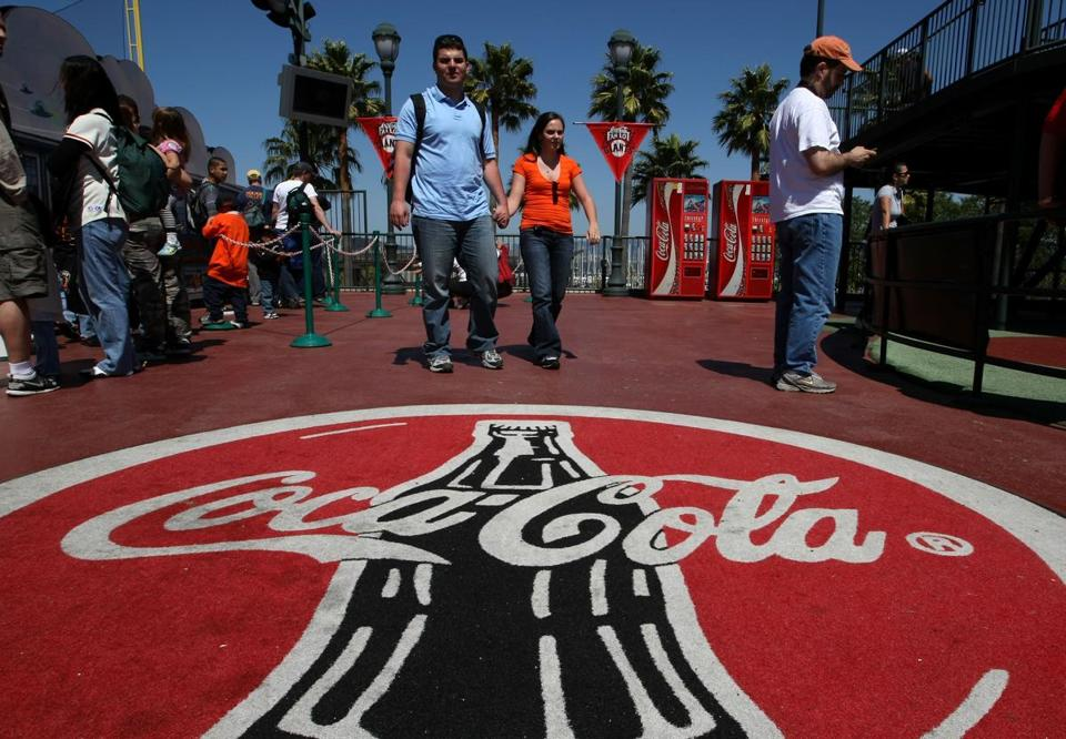Shares of Coca-Cola closed down $1.05, or 2.72 percent, at $37.56.