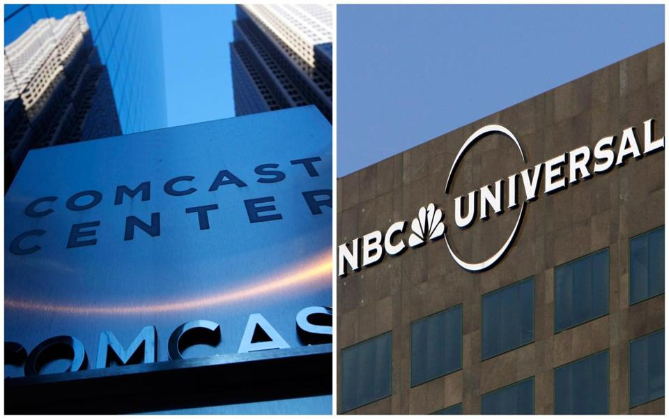 Comcast paid $16.7b for the rest of NBCUniversal it didn't own now rather than pay more for it later.
