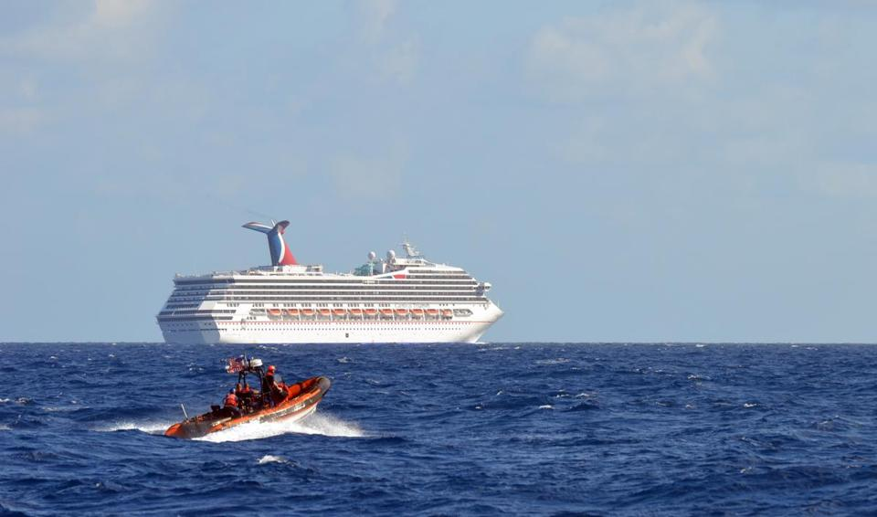 Carnival Corp.'s Triumph floated aimlessly until Tuesday.