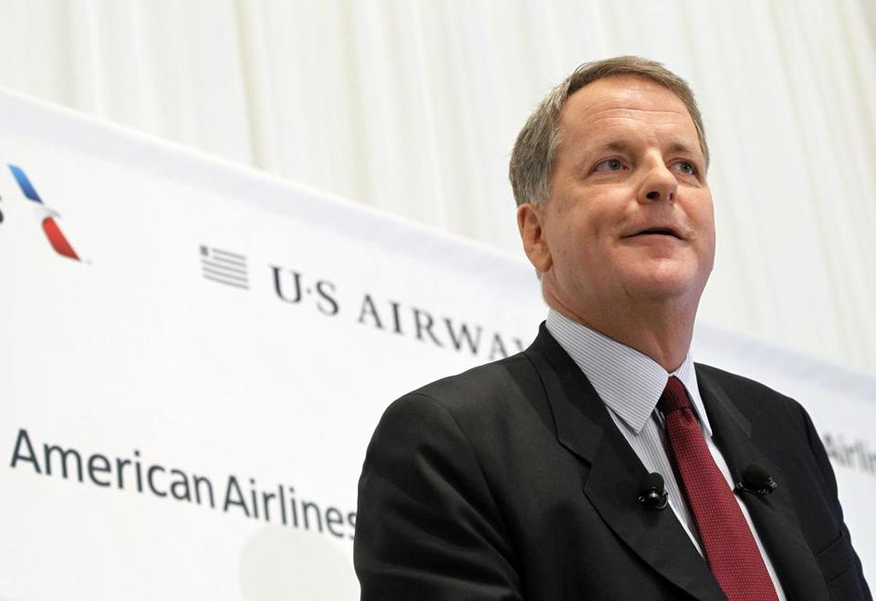 US Airways CEO Doug Parker will head up the combined airline.