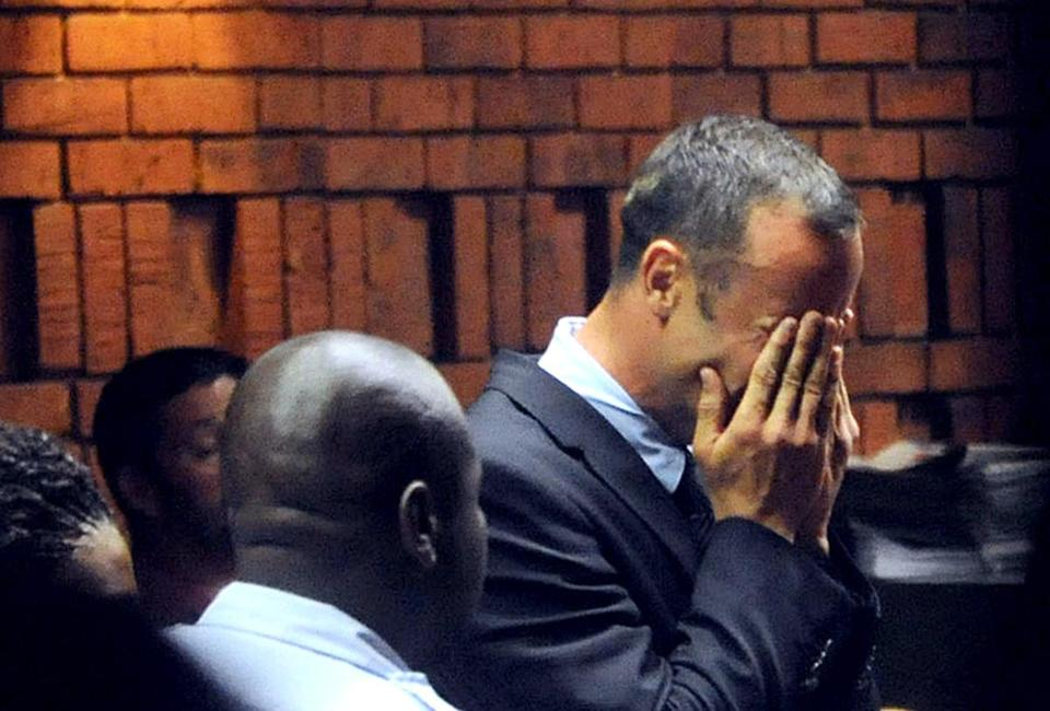 South African Olympian Oscar Pistorius was charged with the premeditated murder of his model girlfriend.