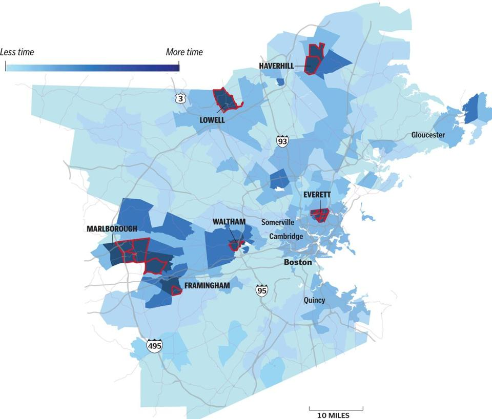 Traffic: Which Boston area neighborhoods are to blame?   The