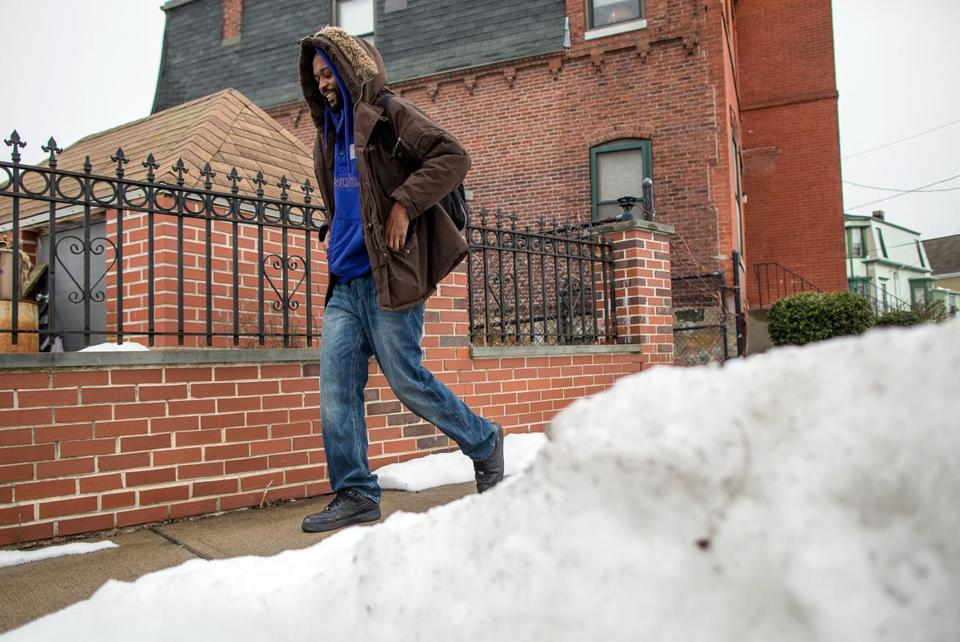 Donald Beckford said Boston did a poor job of clearing snow in Dorchester.
