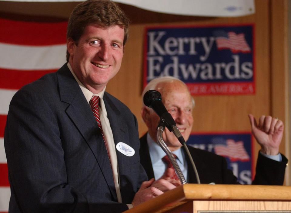 Patrick Kennedy was elected to Congress with the help of Frank DiPaolo, right, and went on to serve until 2011.