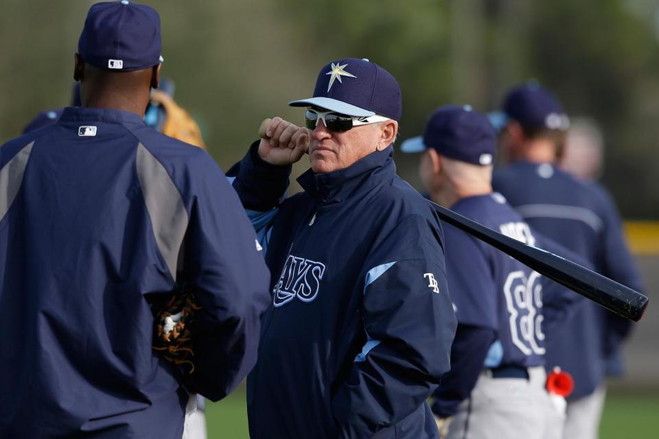 Rays manager Joe Maddon
