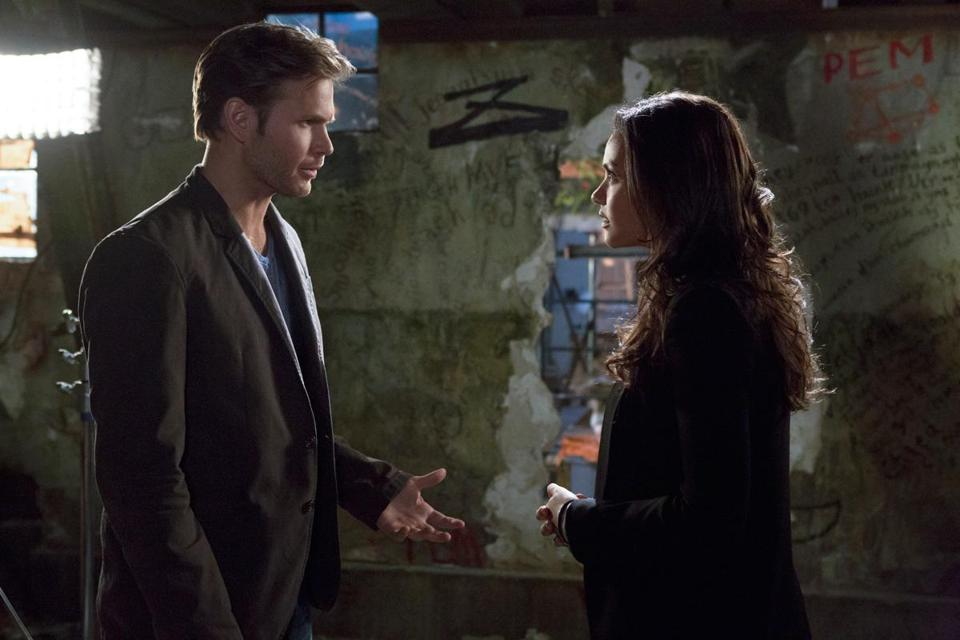 "In the new CW drama ""Cult,"" Matt Davis stars as a ex-reporter investigating a television show, also titled ""Cult,"" with help from one of the show's assistants played by Jessica Lucas."