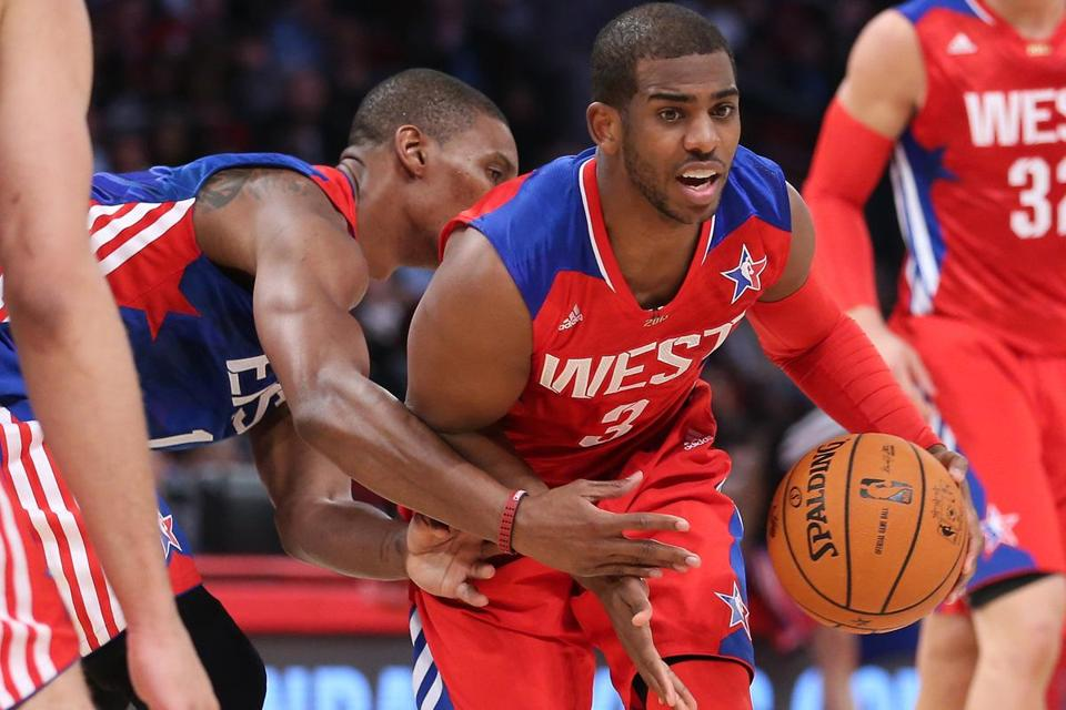 Western Conference guard Chris Paul