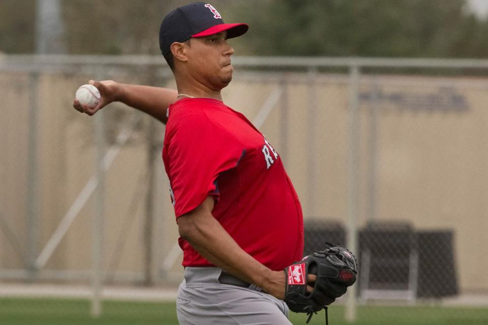 Felix Doubront came to camp overweight and with a sore arm.