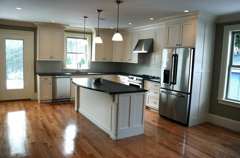 With An Open Floor Plan The Dining Area Leads To Large Kitchen Which