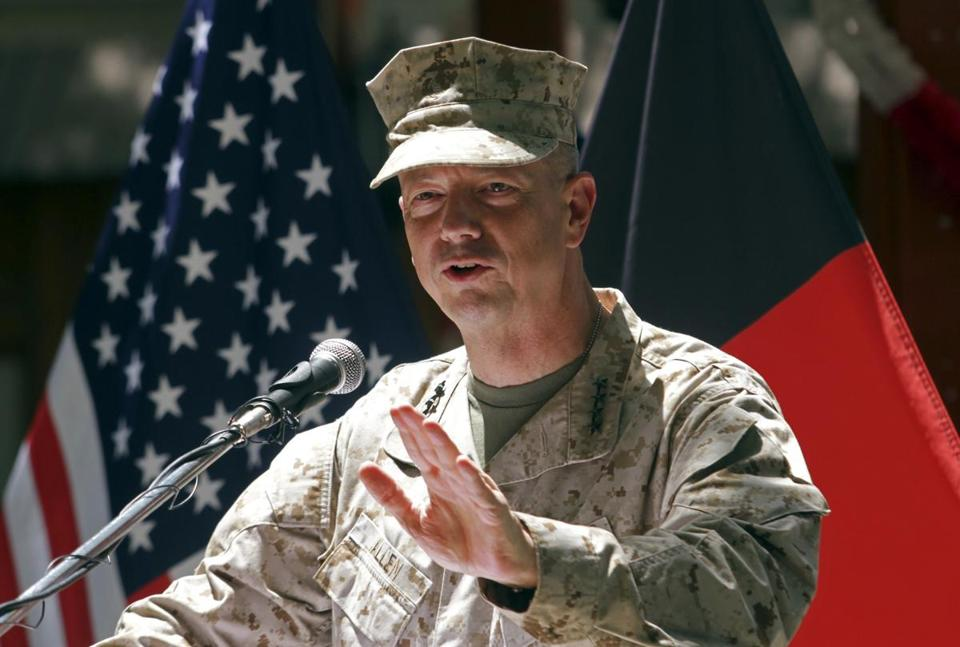 General John Allen was caught up in the scandal that led to the resignation of David Petraeus as head of the CIA.