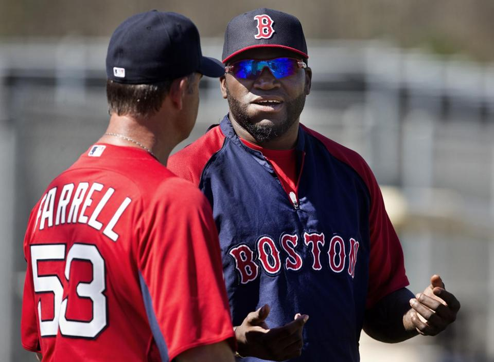 "David Ortiz said he had a ""small tear"" in his Achilles' last summer that has healed, and a recent MRI showed no difference from the tendon in his left foot."