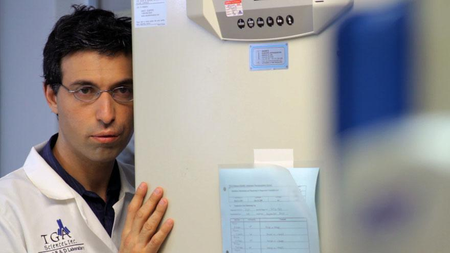 Alex Karpovsky plays a technician obsessed with a co-worker.