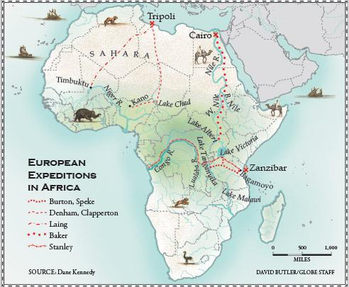 Behind Africas explorers Muslim empires on the make The Boston