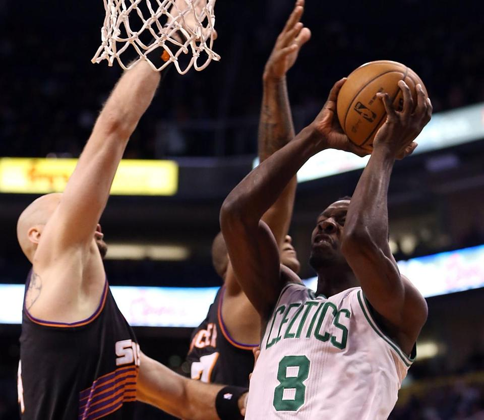 The Celtics' Jeff Green had a season-high 31 points in a starting role.