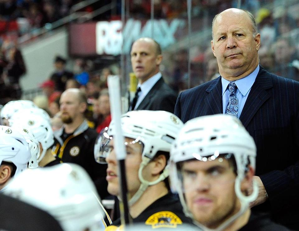 Claude Julien's Bruins have had trouble converting prime scoring chances.