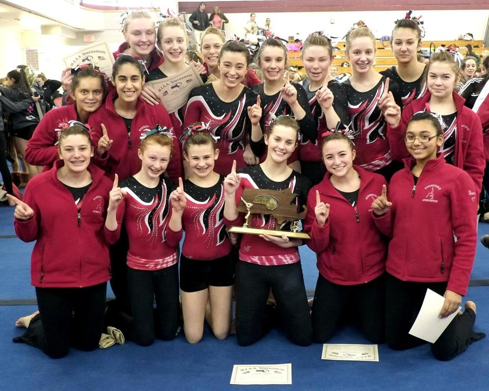 For starters, the Barnstable girls won the South sectional title and celebrated above. The next week, it was the state championship.