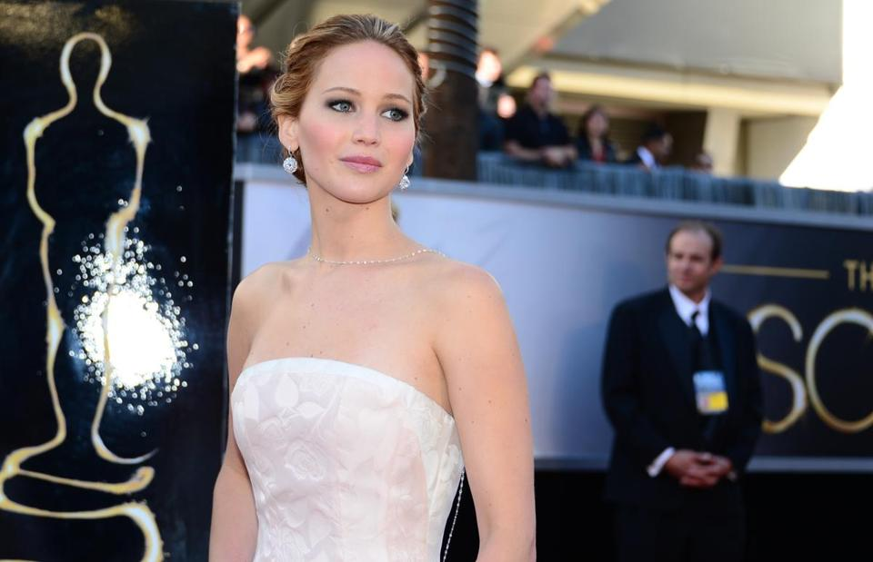 Jennifer Lawrence's online storage account was hacked.
