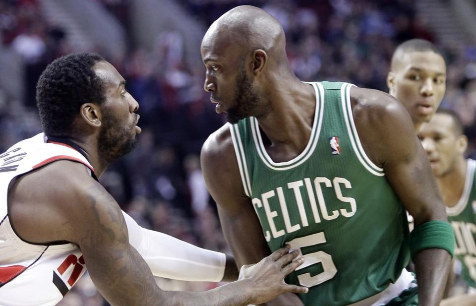 Kevin Garnett and the Celtics have stumbled into a slump on their West Coast trip.
