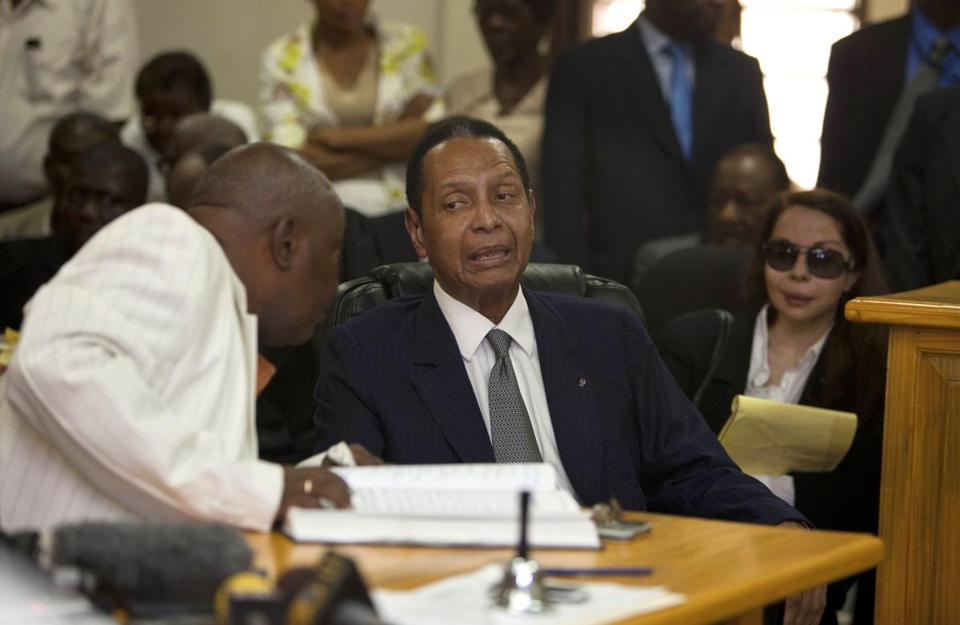 Jean-Claude Duvalier had three times shunned a court summons for a hearing on human rights abuses.