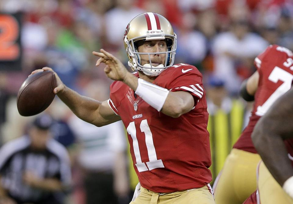 The 49ers will deal backup Alex Smith to the Chiefs for a second-round pick.