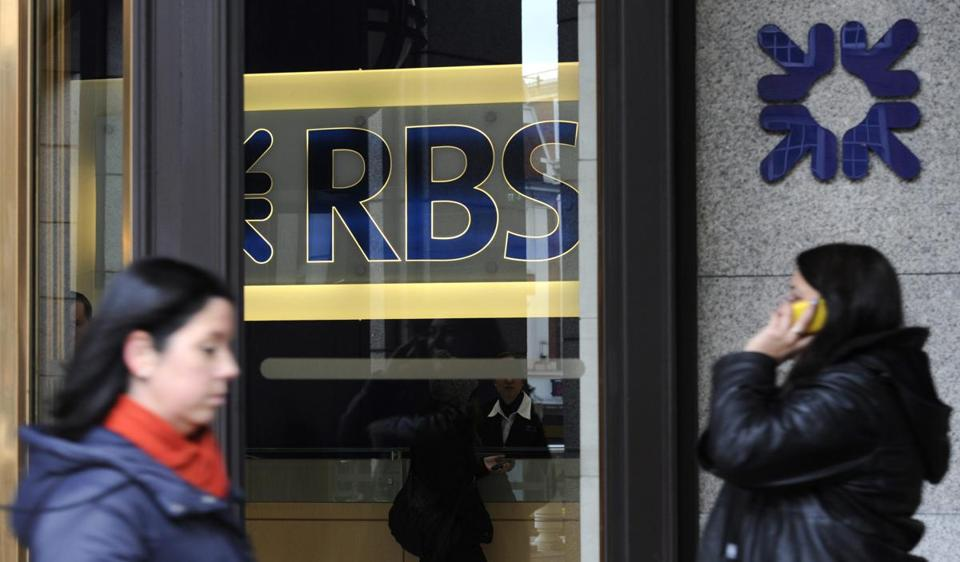 Struggling Royal Bank of Scotland reported a larger-than-expected loss of some $9 billion for 2012.