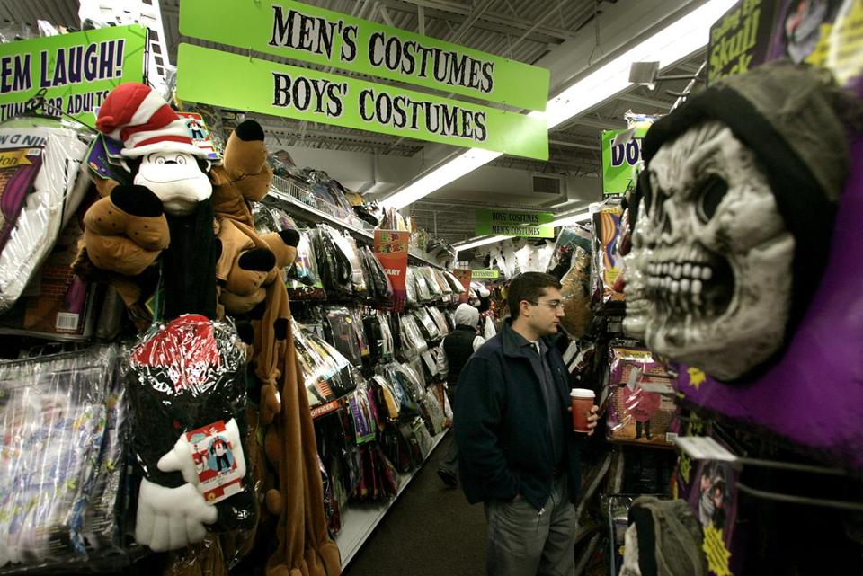 real estate zombies shuttered stores return to life for halloween the boston globe - Nj Halloween Stores