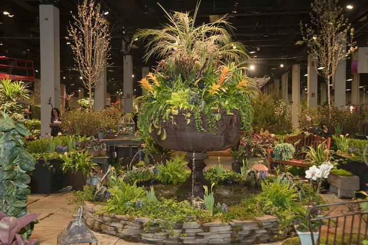 The Boston Flower & Garden Show begins Thursday at the Seaport World Trade Center.