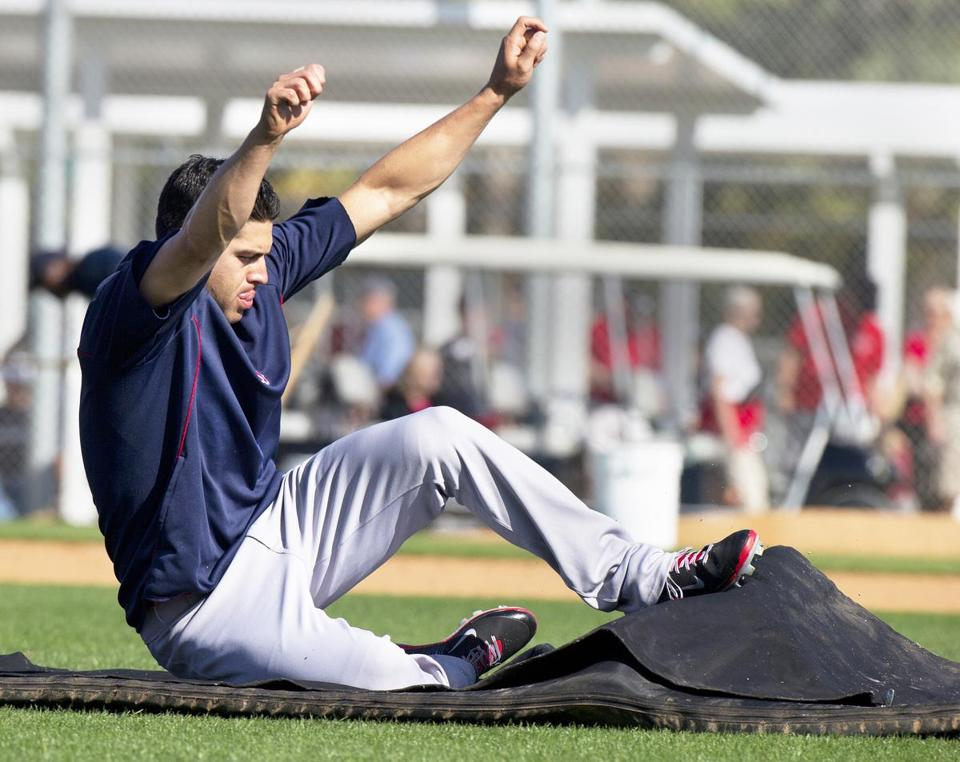 Red Sox outfielder Jacoby Ellsbury
