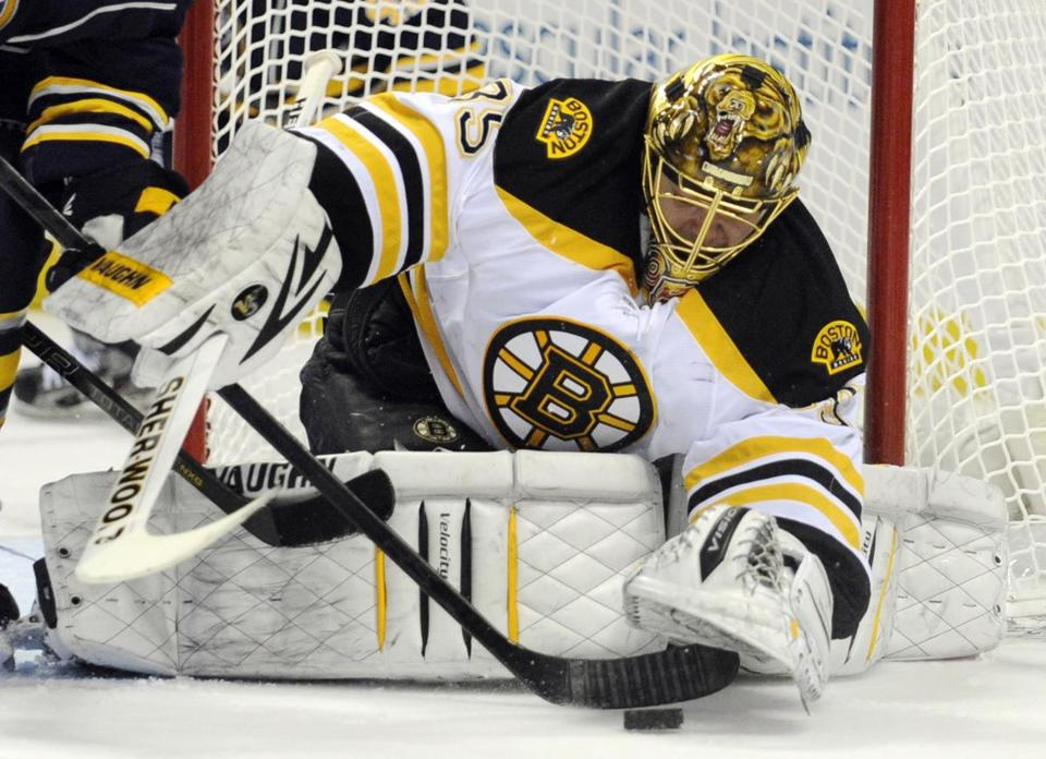 With the Bruins set begin a stretch of 17 games in 30 days, goaltender Anton Khudobin is expected to start against Tampa Bay.