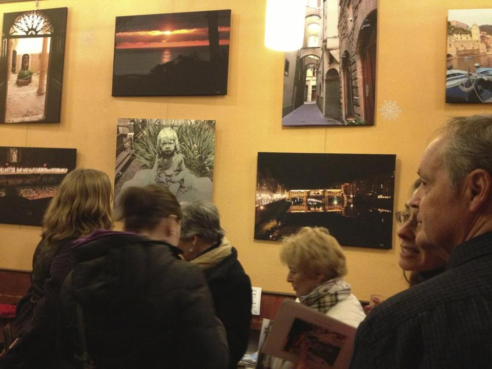 "Photographer Drew Finn showed a collection of his work entitled ""Stops Along the Path"" at The Marketplace Cafe in Pittsfield in March."