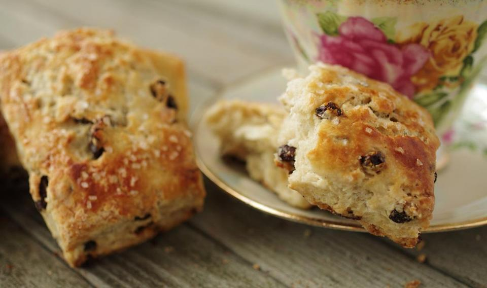 Lisa Zwirn's recipe for currant scones.
