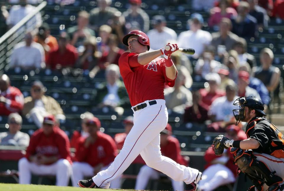 AL Rookie of the Year Mike Trout