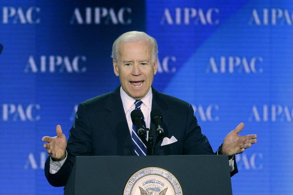 Vice President Joe Biden delivered remarks to the American Israel Public Affairs Committee in Washington.
