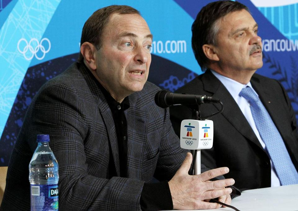 Will NHL commissioner Gary Bettman sign off on sending the league's players to next year's Olympics?
